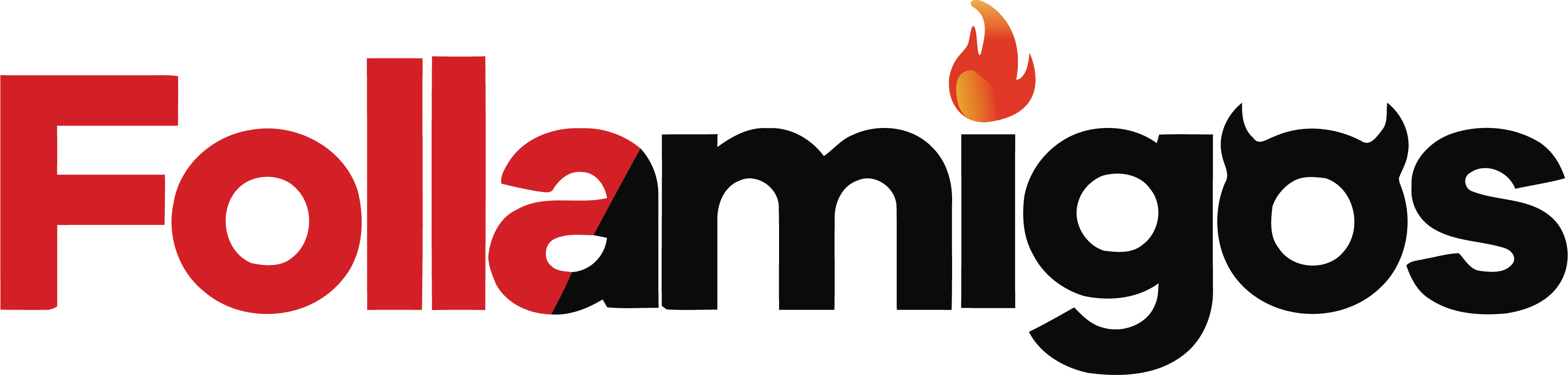 Logotipo web de citas sexuales Follamigos