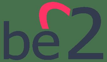 logotipo de la página para buscar pareja be2