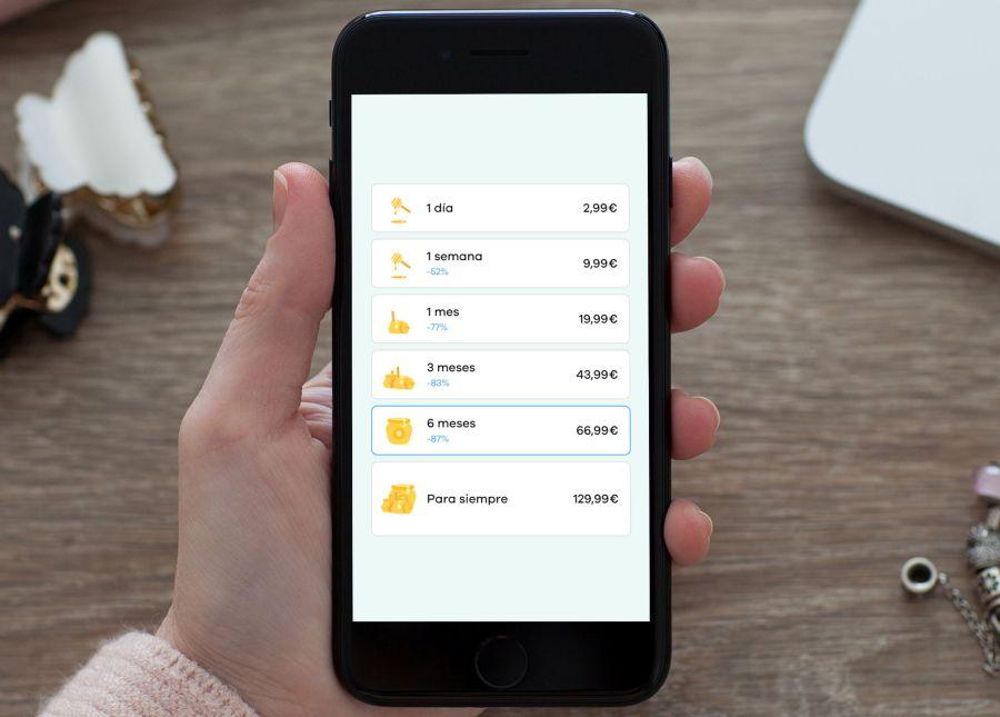 precios suscripción premium bumble app