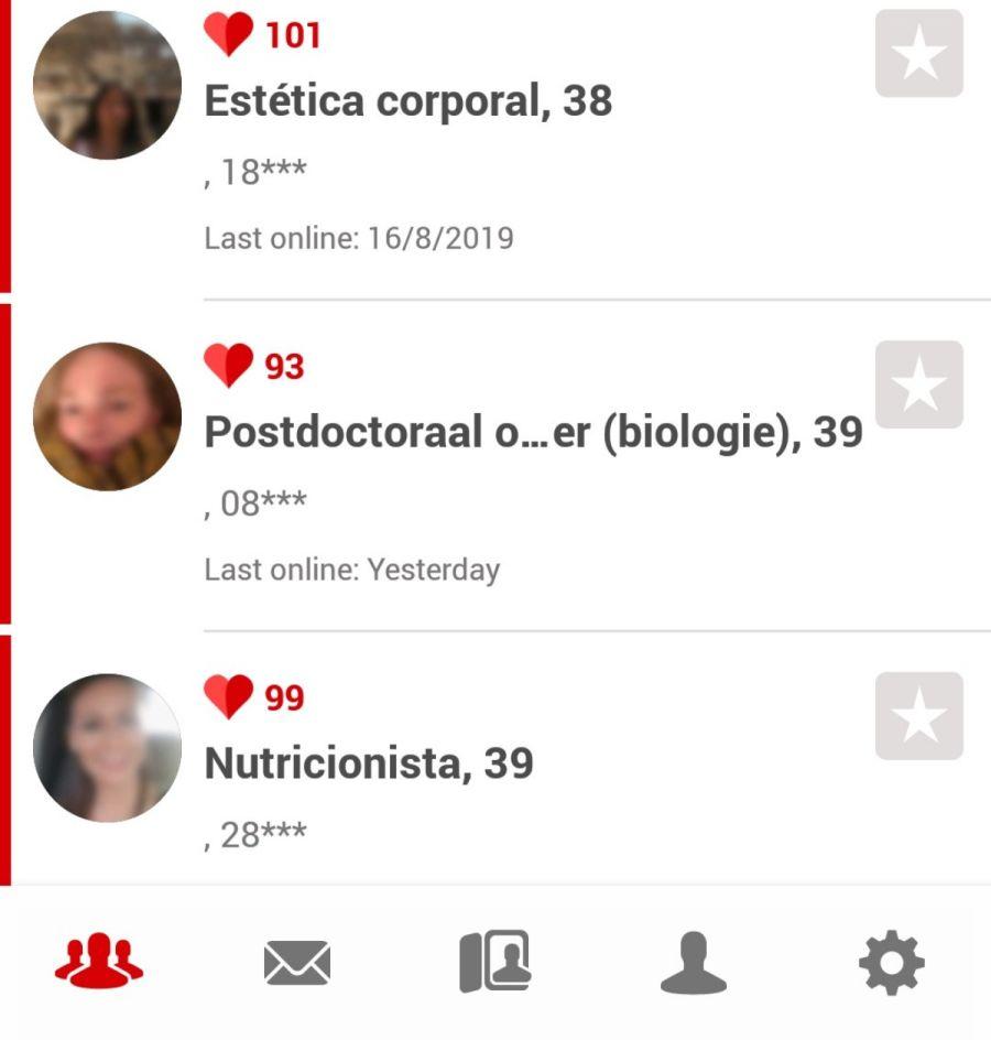 aplicación Parship España