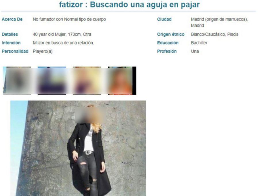 POF perfil mujer