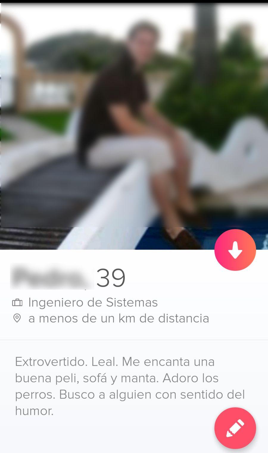 Tinder Perfil Masculino